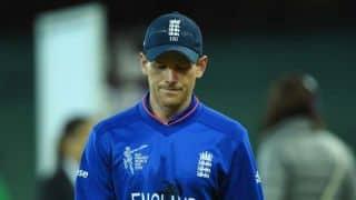 VIDEO: Eoin Morgan defends Ben Stokes' reaction following controversial dismissal