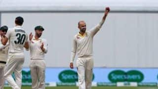 Nathan Lyon fourth Australian to claim 350 Test wickets