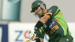 Pakistan vs Sri Lanka Asia Cup 2014 Match 1: Misbah, Maqsood steady Pakistan