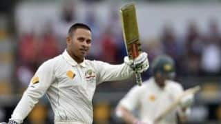 Usman Khawaja expected to be fit for first Test against India