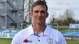 Hardus Viljoen ends Kolpak deal with Derbyshire
