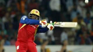 Live Cricket Scorecard, IPL 2015: Royal challengers Bangalore vs Rajasthan Royals, Eliminator at Pune