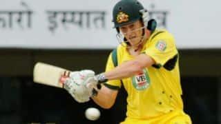 George Bailey slams century during India vs Australia 1st ODI at Perth