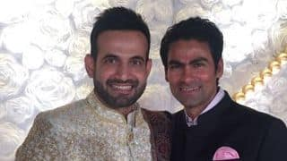 Photos: Irfan Pathan-Safa Baig's wedding reception