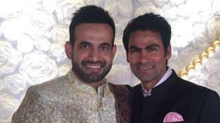 Photos: Irfan Pathan-Safa Baig's wedding reception
