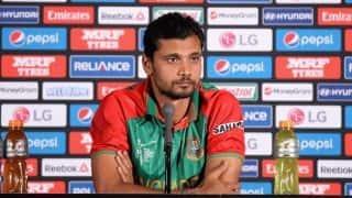 Mashrafe Mortaza was not informed about Soumya Sarkar, Imrul Kayes's inclusion in Bangladesh squad