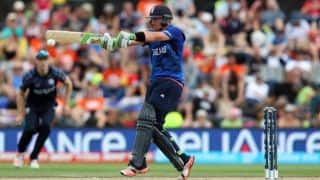 Ian Bell scores half-century against Bangladesh in ICC Cricket World Cup 2015, Pool A match at Adelaide