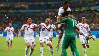 Costa Rica beat Greece on Penalties in FIFA World Cup 2014 Round of 16 match