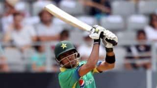 Pakistan scores 197 runs vs World XI in 1st T20 match, Babar Azam smashes 86 runs