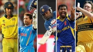 ICC World Cup: The most capped players