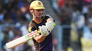 IPL 2018: Chris Lynn, Dinesh Karthik take KKR to 191/7 vs KXIP