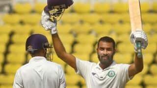 Irani Cup, Day 3: Akshay Karnewar's 102 helps Vidarbha gain upper hand over Rest of India