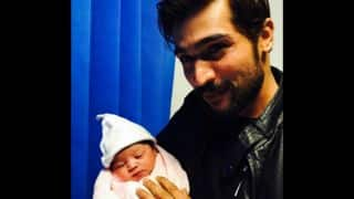 Mohammad Aamer blessed with baby girl