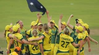 CA pays tribute to women's team after World T20 triumph