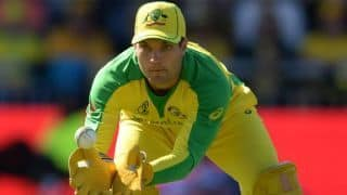 wi vs aus alex carey to lead australia after aaron finch ruled out due to injury