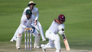 Pakistan vs West Indies, 2nd Test, Day 2, Tea Report: Visitors start steady