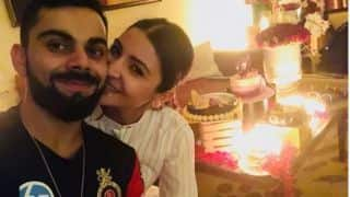 "Watch Anushka Sharma celebrate her ""best birthday"" with Virat Kohli"