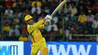 MS Dhoni smashes 7 sixes against RCB; Here's IPL's new record of most sixes in a match