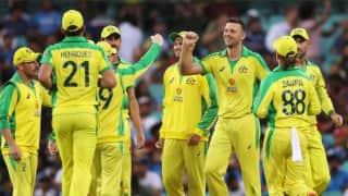 दूसरे वनडे में जीत हासिल कर ऑस्ट्रेलिया ने वनडे सीरीज पर कब्जा किया