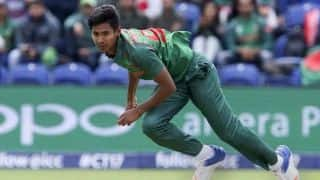 Bangladesh pacer Mustafizur Rahman suffers ankle injury, advised two weeks rest