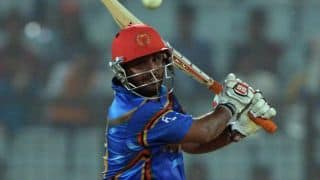 Afghanistan score commanding 187-7 against Zimbabwe in 1st T20I at Sharjah