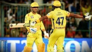 IPL 2018: धोनी ने 206 रनों के विशाल लक्ष्य को छक्का मारकर किया पूरा, 5 विकेट से मिली जीत
