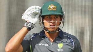 India vs Australia 2015-16: Usman Khawaja to replace David Warner for 2nd ODI at Brisbane
