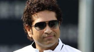 Sachin Tendulkar inaugurates shopping mall in Vijayawada