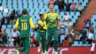 न्यूलैंड्स टी-20: क्रिस मॉरिस, तबरेज शमसी की गेंदबाजी के दम पर 6 रन से जीता दक्षिण अफ्रीका