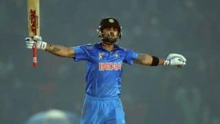 India vs England, ICC World T20 2014 warm-up: Kohli and Raina take India past 100