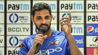 Bhuvneshwar Kumar not worried even as Bumrah-Shami ready to share new ball
