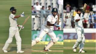 Records for Virat Kohli, Cheteshwar Pujara, Murali Vijay on Day 1 of India vs Bangladesh Test