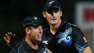 India lose quick wickets after cautious start against New Zealand in 4th ODI; score 38/2 in 12 overs