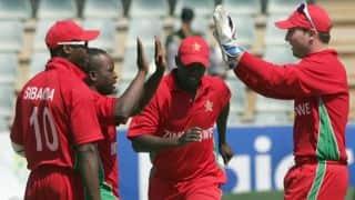 Zimbabwe vs Afghanistan 2014, 1st ODI at Bulawayo: Zimbabwe strike early against the visitors