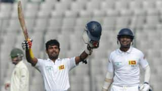 Sri Lanka stretch lead to 143 at stumps on Day 2 of 1st Test against Bangladesh