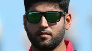 Ireland vs UAE, ICC Cricket World Cup 2015, Pool B Match 16 at Brisbane: Mohammad Naveed dismisses Andy Balbirnie