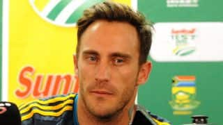 Faf du Plessis, Dale Steyn to undergo fitness tests ahead of ICC World T20 2014