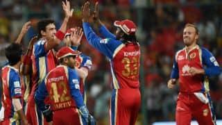 SRH vs RCB Live IPL 2014 T20 Cricket score