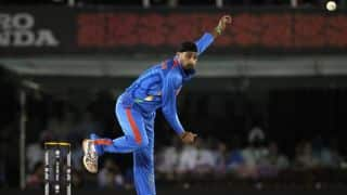 Harbhajan Singh jumps to 2nd position among bowlers with most T20I maidens during India vs UAE, Asia Cup 2016