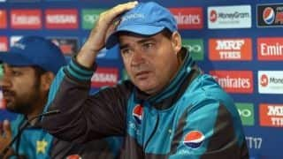 Disappointed and hurt: Mickey Arthur after being sacked as Pakistan coach
