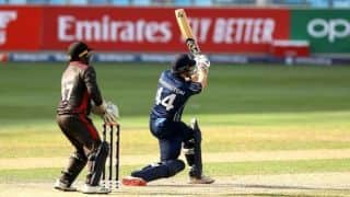 Scotland thrash UAE by 90 runs to book berth in T20 World Cup