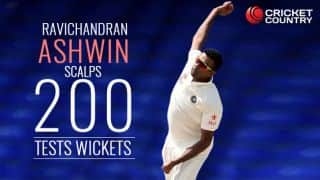 IND vs NZ,1st Test: Ashwin 2nd fastest to reach 200 Test wickets