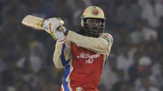 Chris Gayle starts well for Royal Challengers Bangalore vs Rajasthan Royals, IPL 2014