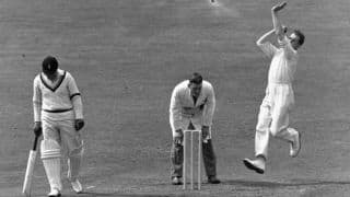 Video: Jim Laker's 19 wickets in an Ashes Test against Australia