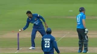 Instances of 'Mankading' in cricket