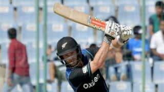 Kane Williamson dismissed for 27 by Akshar Patel in 5th ODI vs India
