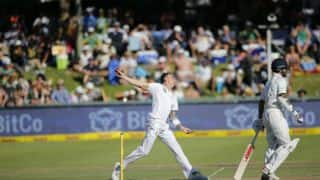 Dale Steyn surpasses Harbhajan Singh to become 10th bowler with most test wickets