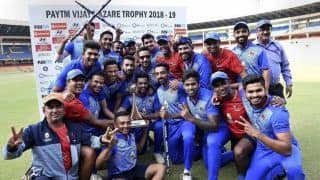 Vijay Hazare Trophy 2019-20: Full schedule, fixtures and results