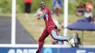 West lndies labour to 4-wicket win over Ireland in only ODI at Jamaica