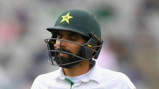 Misbah laments Pakistan's average performance in 2nd Test